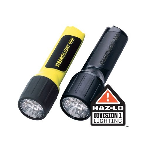 Streamlight Propolymer 4AA LED with alkaline batteries