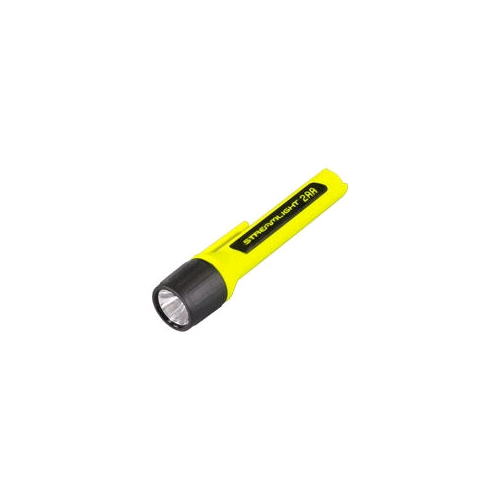 Streamlight Propolymer 2AA with alkaline batteries in box, Yellow