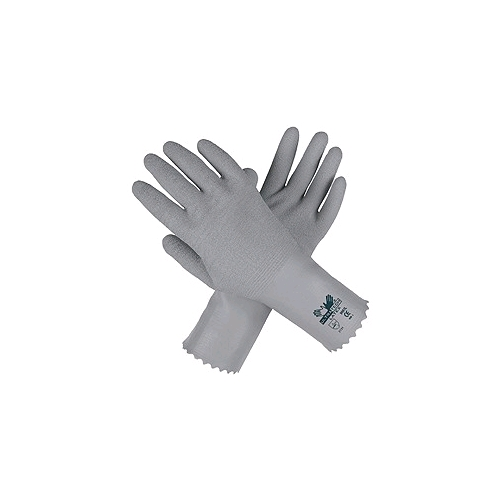 "Memphis Ultra Tech Latex Gloves 12"" Gauntlet Coated"