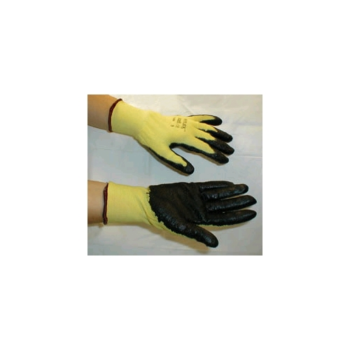 Ansell HyFlex CR Gloves With Stretch Kevlar Liner And Foam Nitrile Coating