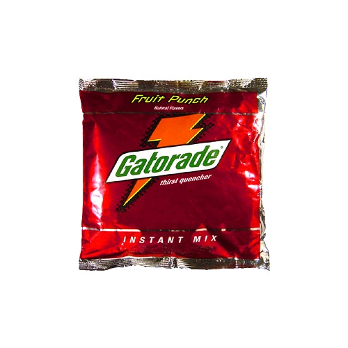 Gatorade 21 Oz. Fruit Punch Instant Powder Mix, Makes 2.5 Gallons, 32/Case