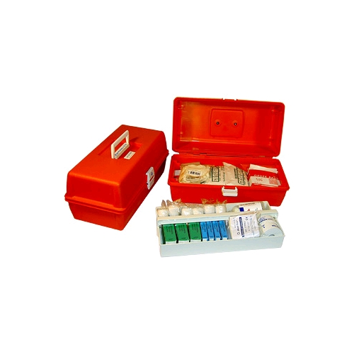 Trauma Kit/First Response in a Tackle Box